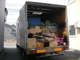 引っ越しトラック